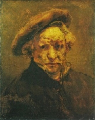 df23ce4c515 Francis Bacon s self-portrait from 1972 is to be show alongside Rembrandt s  late Self-Portrait with a Beret