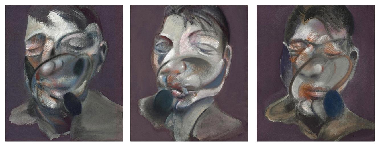 6cf6af68676 Three Studies for Self-Portrait Francis Bacon (1901 - 1992)